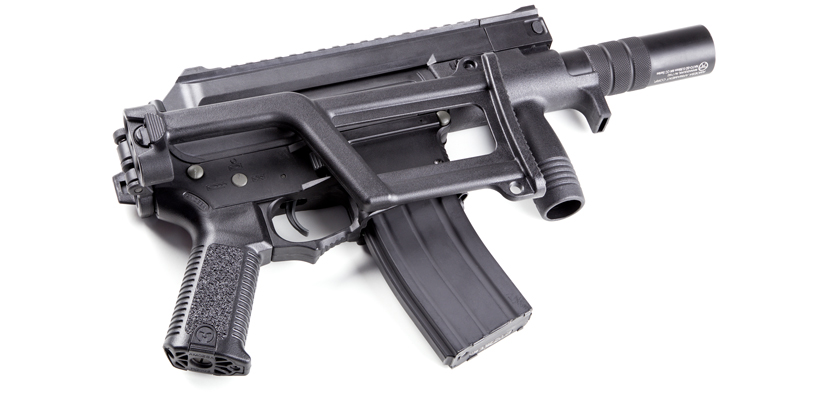 M-4 Arizona laser tag gun with foldered stock