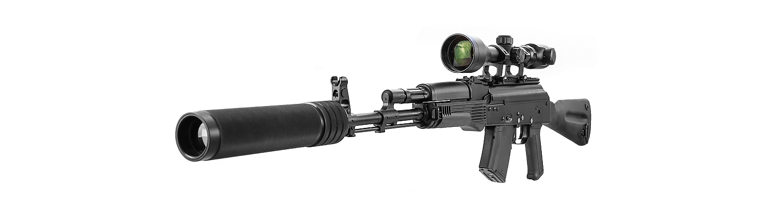 Kalashnikov Sniper rifle for Laser Tag