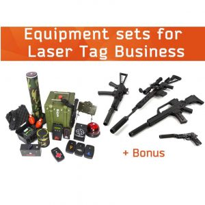 Laser Tag Sets for Business